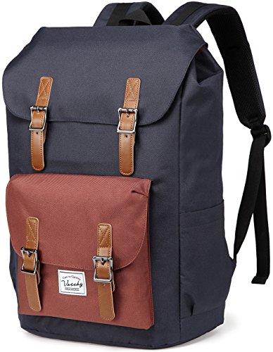 Bacpack for men,VASCHY Casual Water-resistant Hiking Camping Daypack Travel School Backpack Bookbag