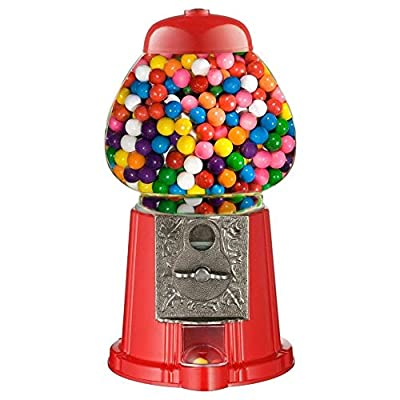 aqs mini gumball dispenser machine toy with bubble gum party bag coin operated - red AQS Mini Gumball Dispenser Machine Toy With Bubble Gum Party Bag Coin Operated – Red 51HjJZUb9TL