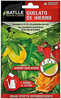 comprar comparacion Abonos - Fertilizante Quelato de Hierro Sobre para 1L - Batlle