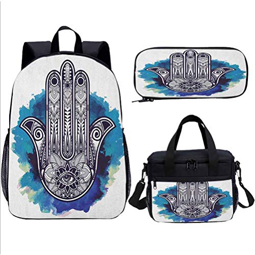 School Backpack, Hamsa, for Boy&Girl SchoolBag, 15 inch