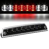 Tinted Housing Dual Row LED 3rd Third Tail Brake Light Reverse Lamp for Ram 1500 2500 3500 DS//DJ 09-10