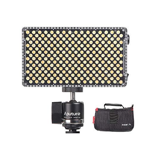 Aputure Amaran AL-F7 On-camera LED Light Lamp, CRI95+, 3200-9500K Daglicht verlichting, 920 lux op een meter