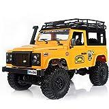 Goolsky MN-D90K 1/12 RC Crawler Defender Racing Truck Off-Road Car para Niños Adultos DIY Play Kit Sin Receptor Controlador ESC Batería