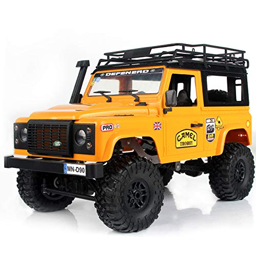 Goolsky MN-D90K 1/12 RC Crawler Defender Racing Truck Off-Road Car para Niños Adultos DIY Play Kit Sin Receptor Controlador ESC Batería