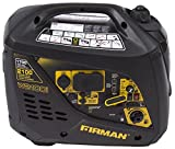 Firman W01781 2100/1700 Watt Recoil Start Gas Portable Generator cETL and CARB Certified, Yellow
