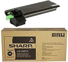 Sharp MFC AR208D Toner Cartridge - OEM - OEM# AR-208NT - Standard Yield - 8K Black - Also for AR-208