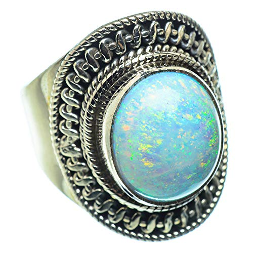 Ana Silver Co Fire Opal Ring L 1/2 (925 Sterling Silver)