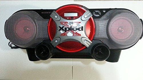 Sony CFDG505 Radio Cassette Recorder Boombox (Black)