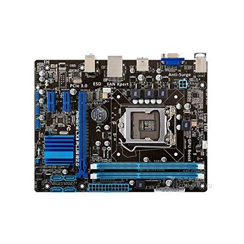 WWWFZS Placa Base De La Computadora Fit For ASUS P8H61-M LX3 Plus...