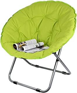 RUIX Folding Chair Recliner Lazy Chair  Comfortable And Convenient Yellow