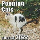 Pooping Cats Calendar 2022: Funny Animal Lover | Joke Gag Gift for Men, Women Teen | Great Stocking Fillers or Stuffers | Secret Santa | White Elephant | Christmas Exchange | Birthday