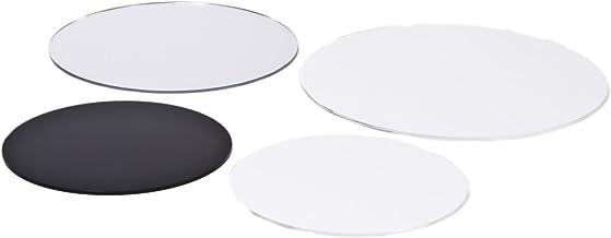 transparent Kreiszuschnitt aus Acryl 4mm XT Plexiglas/® 22 cm Durchmesser
