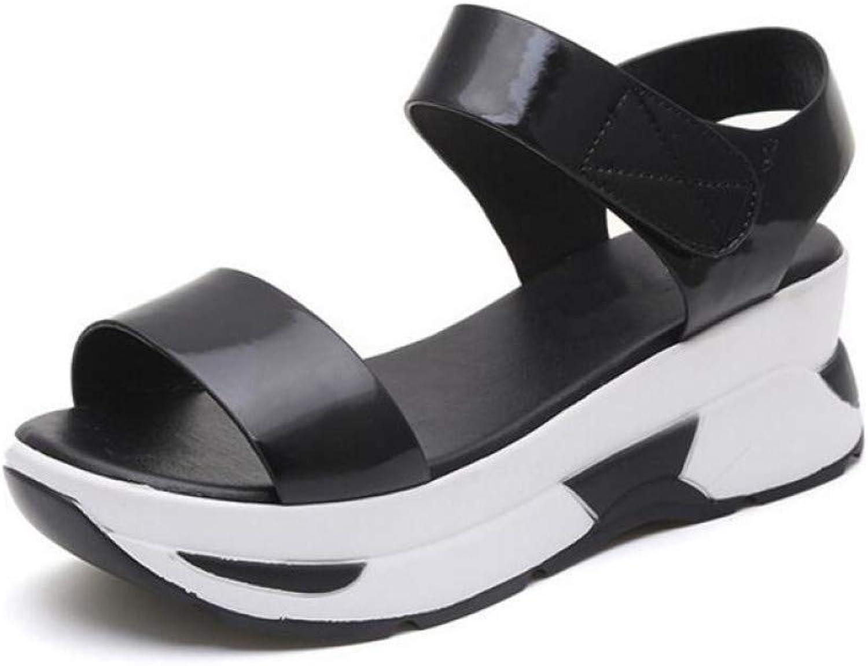 rot LIU Sommer Neue Frauen Sandalen Wilde Flut beilufige Schuhe weibliche Sommer Strand Schuhe Flache Schuhe Student Sandalen Sandalen Hausschuhe Schuhe