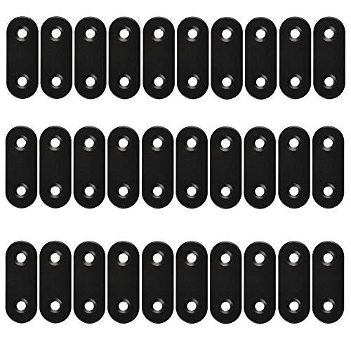 30 piezas de soporte de esquina recto plano para placa de
