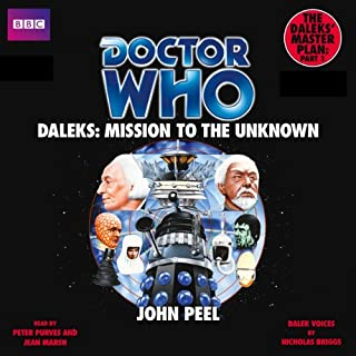 Couverture de Doctor Who: Daleks - Mission to the Unknown