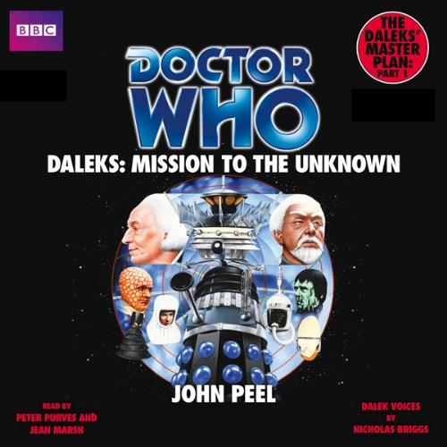 Doctor Who: Daleks - Mission to the Unknown audiobook cover art