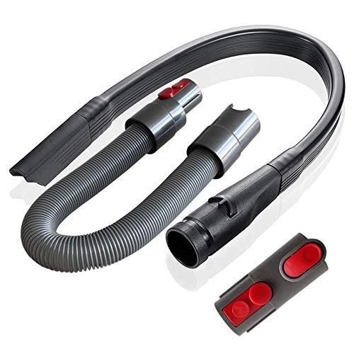 ZUZZEE Kit de accesorios de manguera flexible de repuesto para aspiradora Dyson V8 V10 V7 V11 con adaptador de liberación rápida