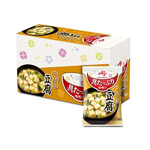 味の素 具たっぷり味噌汁 豆腐 10食入