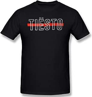 GUPINGER Men's Tiësto Restoring Ancient Ways Black Shirt
