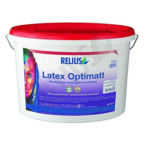Relius Latex Optimatt ELF, weiß, 3 Ltr.