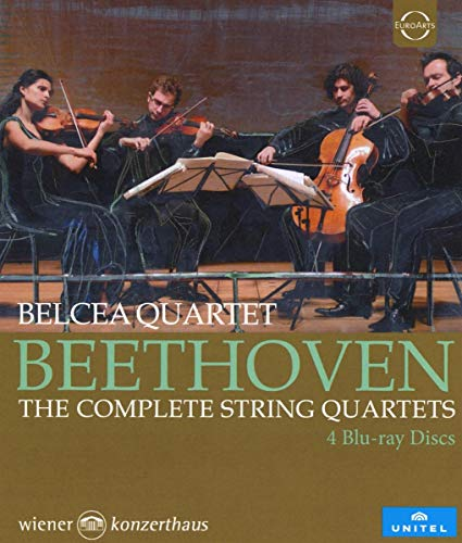 Beethoven: The Complete String Quartets [Blu-ray]