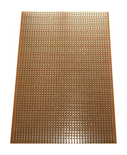 Lochrasterplatine Streifenrasterplatine Euro-Platine 160x100 mm (2102)