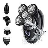 Best Electric Shaver For Bald Heads - Electric shavers for Men, Cordless Rechargeable Electric Razor Review