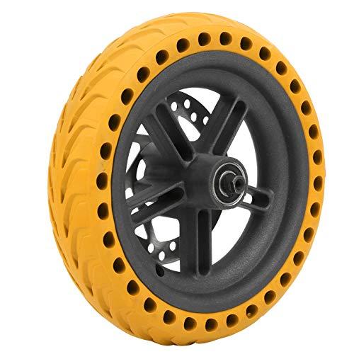 minifinker Neumático eléctrico a Prueba de explosiones de la Rueda de la Vespa, para la conducción Segura en Nieve y Lluvia(Yellow)