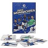 FC Schalke 04 Adventskalender Team - Schokolade + Autogrammkarten