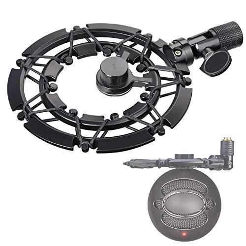 lue Snowball Shock Mount, Microfono Shockmount Supporto Antiurto Riduce Vibrazioni Adatto per Blue Snowball iCE USB Mic di YOUSHARES