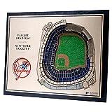 YouTheFan Wall Art 3D Stadium View New York Yankees 43x33cm
