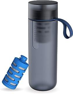 Philips GoZero Gourde filtrante Bleue AWP2712BLR/10 - + 1 filtre fitness - Filtre le Chlore et autres contaminants