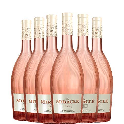 El Miracle Nº 5 Vino Rosado Premium D.O. Valencia caja 6 botellas 75 cl.