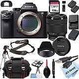 Sony Alpha a7R II Mirrorless Digital Camera with 28-70mm Lens Kit + 128GB Memory + Case + Tripod (18pc Bundle)