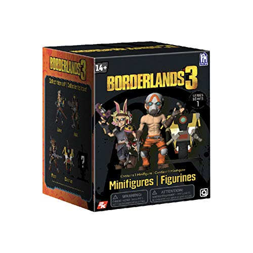 Borderlands 3 BOR2901 Mini figuras, 1 Unidad , color/modelo surtido