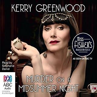 Murder on a Midsummer Night audiobook cover art