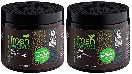 Fresh Wave Odor Removing Gel, 15 oz. (Pack of 2)