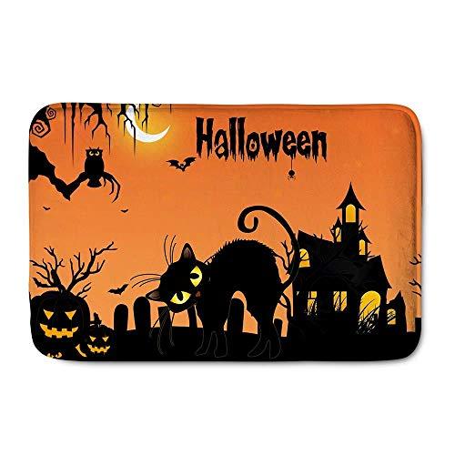 Halloween Funny Home Mat