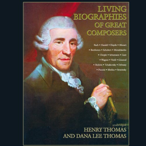 Living Biographies of Great Composers cover art