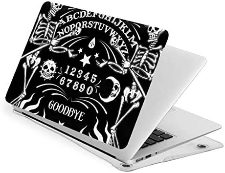 Skeleton Ouija Board Tattoo Case for MacBook Pro 13 Inch Slim Fits with A2159 A1989 A1706 A1708 product image