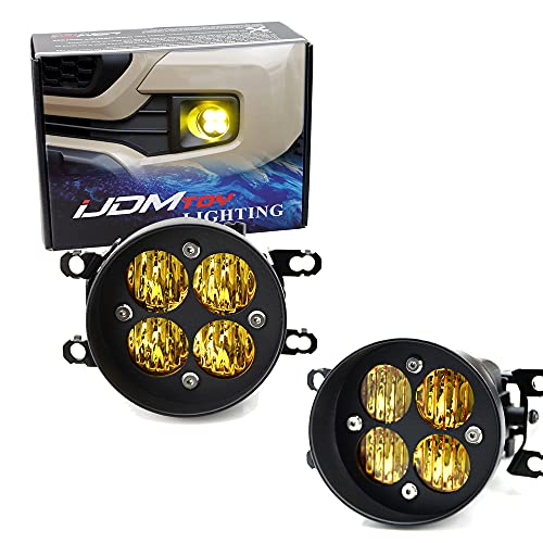 iJDMTOY Yellow Lens 24W High Power LED Wide Angle...