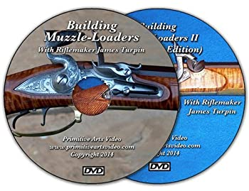 Building Muzzle Loaders I and II with James Turpin  2 DVD Set