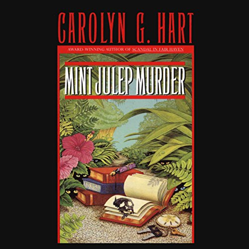 Mint Julep Murder audiobook cover art
