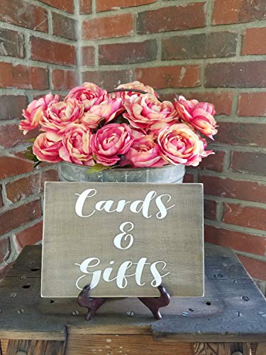 Gale66Lucy Karten und Geschenke Tischschild Karten und Geschenke Holzschild Tischschild Geschenke Tischschild Rustikal Hochzeit Karte und Geschenk Schild Holz Tischschild
