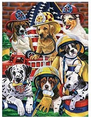 Puzzle 750 Teile Jenny Newland  Hundehelden 60801 von MasterPieces