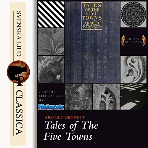 Tales of the Five Towns audiobook cover art