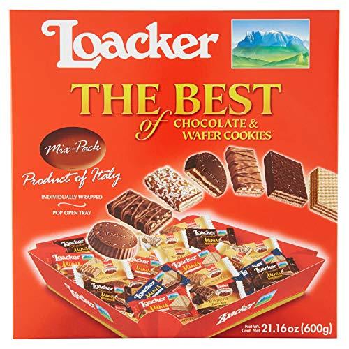 Loacker ローカー ベストオブパーティーボックス ウエハース 600g