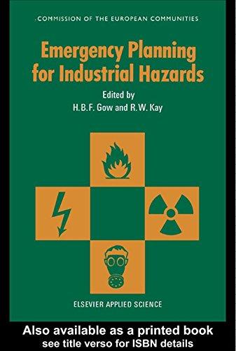 Emergency Planning for Industrial Hazards (Eur (Series), 11591 En-,) (English Edition)