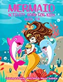 Mermaid Activity Book For Kids Ages 7-9 | Coloring & Drawing, Word Search, Mazes, Sudokus: Book Cover Designed With Fantasy Hair Monofin Tails Mermaid ... For Children Of Preschool & Kindergarten