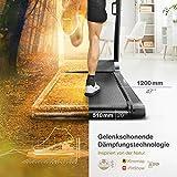 Sportstech FX300 Ultra Slim Laufband – Deutsche Qualitätsmarke – Video Events & Multiplayer APP, Riesen Lauffläche 51x122cm & kein Aufbau, 16 km/h,USB Ladeport, Pulsgurt kompatibel für Cardio Training - 5